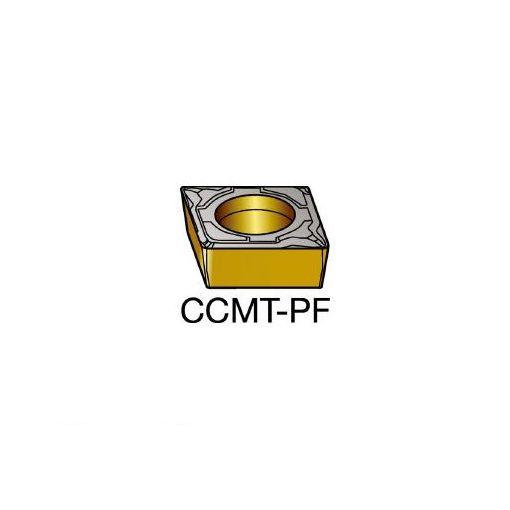 サンドビック SV CCMT09T302PF コロターン107 旋削用ポジ・チップ 5015 606-8618 【キャンセル不可】