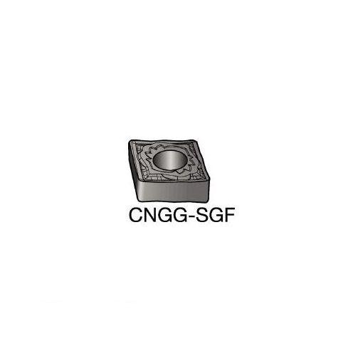 サンドビック SV CNGG120408SGF T-Max P 旋削用ネガ・チップ H13A 604-9079 【キャンセル不可】