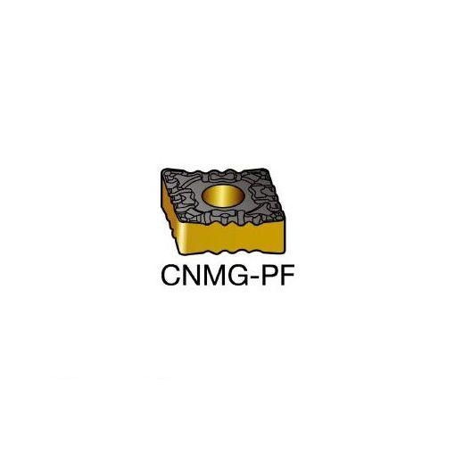 サンドビック SV CNMG120408PF T-Max P 旋削用ネガ・チップ 5015 607-7927 【キャンセル不可】