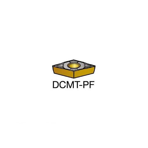 サンドビック SV DCMT070202PF コロターン107 旋削用ポジ・チップ 5015 607-8184 【キャンセル不可】
