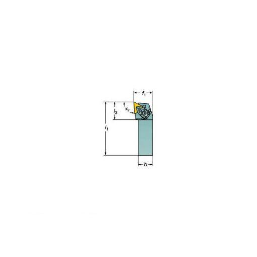 サンドビック SV DTJNR1616H16 コロターンRC ネガチップ用シャンクバイト 606-9363 【キャンセル不可】