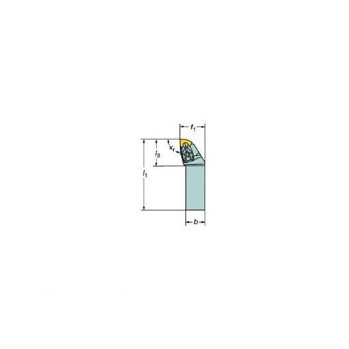 サンドビック SV DWLNR2020K08 コロターンRC ネガチップ用シャンクバイト 609-7146 【キャンセル不可】
