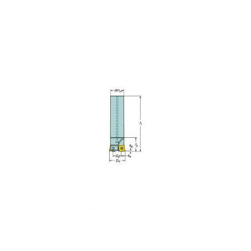 サンドビック SV R210032A2509M コロミル210エンドミル 607-5410 【キャンセル不可】