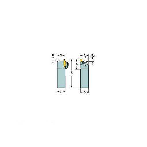【あす楽対応】サンドビック(SV) [RF123G072525C] コロカット1・2 突切り・溝入れ用シャンクバイ 606-6178 【キャンセル不可】