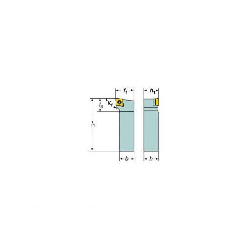 サンドビック SV SCLCR1212F09M コロターン107 ポジチップ用シャンクバイト 607-6092 【キャンセル不可】