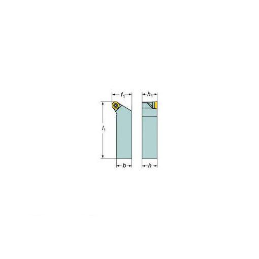 サンドビック(SV) [SRSCL2525M10] コロターン107 ポジチップ用シャンクバイト 607-6262 【キャンセル不可】