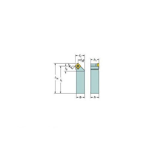 【あす楽対応】サンドビック(SV) [SSDCR2525M12] コロターン107 ポジチップ用シャンクバイト 610-6617 【キャンセル不可】