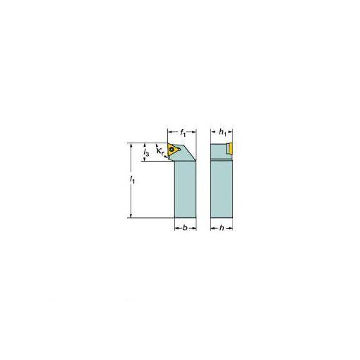 サンドビック SV STGCL1212F11B1 コロターン107 ポジチップ用シャンクバイト 607-6297 【キャンセル不可】