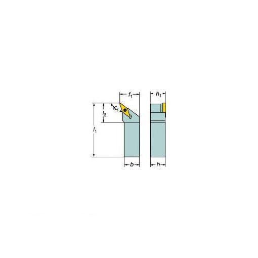 サンドビック(SV) [SVHBR2020K16] コロターン107 ポジチップ用シャンクバイト 607-6335 【キャンセル不可】