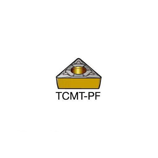 サンドビック SV TCMT110302PF コロターン107 旋削用ポジ・チップ 5015 610-6765 【キャンセル不可】