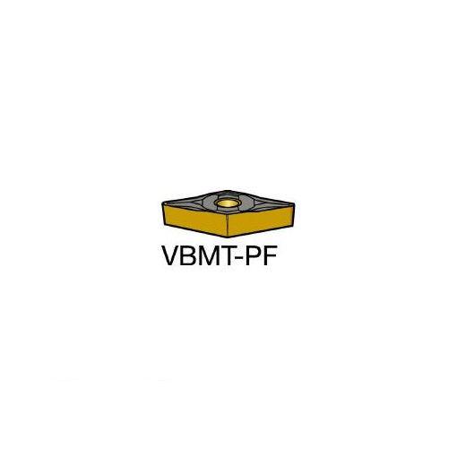 サンドビック SV VBMT160402PF コロターン107 旋削用ポジ・チップ 5015 606-6526 【キャンセル不可】