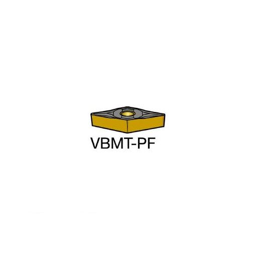 【あす楽対応】サンドビック(SV) [VBMT160404PF] コロターン107 旋削用ポジ・チップ 5015 606-6542 【キャンセル不可】