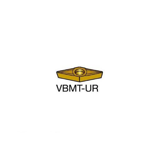 【あす楽対応】サンドビック(SV) [VBMT160404UR] コロターン107 旋削用ポジ・チップ H13A 607-6734 【キャンセル不可】