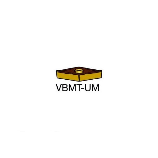 【あす楽対応】サンドビック(SV) [VBMT160408UM] コロターン107 旋削用ポジ・チップ H13A 610-7443 【キャンセル不可】