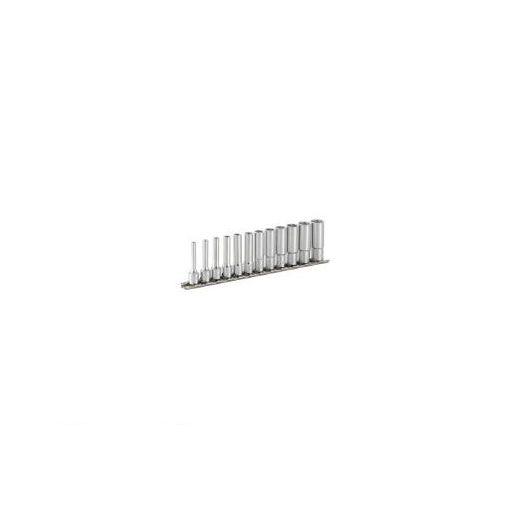 前田金属工業 TONE HSL212 ディープソケットセット【6角・ホルダー付】 12pcs 395-6393