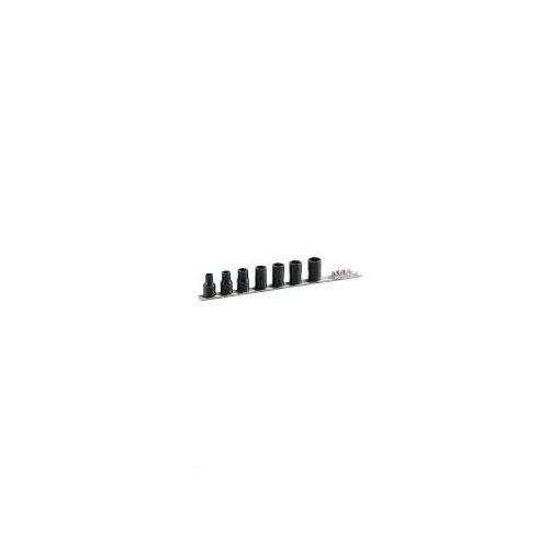 【あす楽対応】前田金属工業(TONE) [HTR307] トルネードソケットセット【ホルダー付】 7pcs 396-4604 【送料無料】