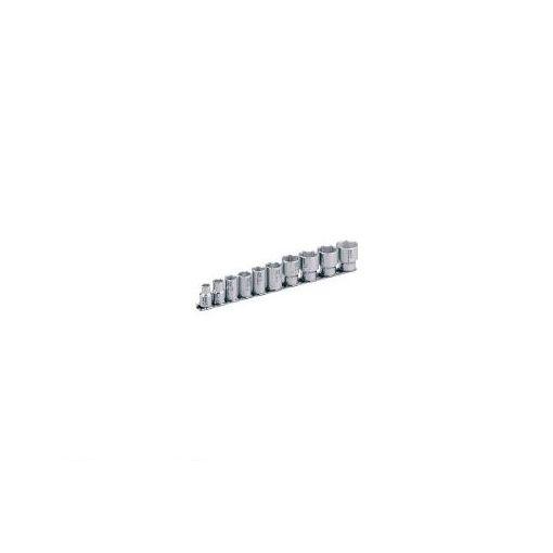 前田金属工業 TONE SHS310 SUSソケットセット【6角・ホルダー付】 10pcs 387-7230 【送料無料】