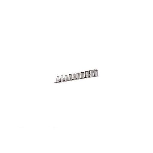 前田金属工業(TONE) [SHS410] SUSソケットセット【6角・ホルダー付】 10pcs 387-7248 【送料無料】