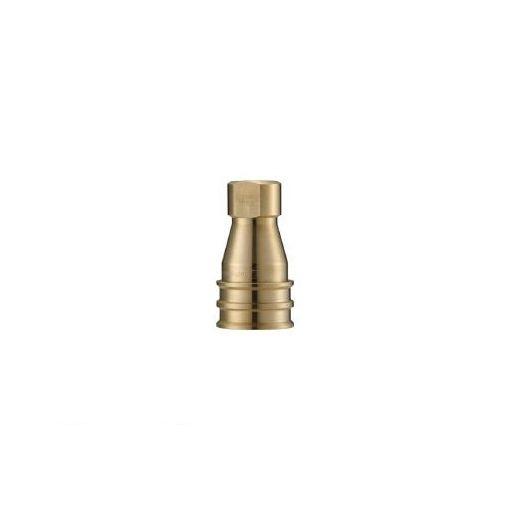 【あす楽対応】長堀工業(ナック) [CSP12S2] クイックカップリング S・P型 真鍮製 オネジ取付用 364-4154