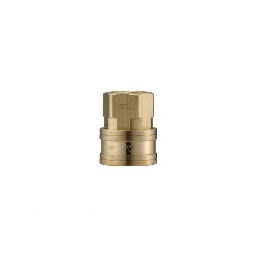 長堀工業 ナック CTL10SF2 クイックカップリング TL型 真鍮製 オネジ取付用 364-5398