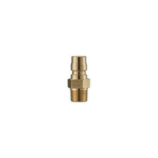 長堀工業 ナック CTL16PM2 クイックカップリング TL型 真鍮製 メネジ取付用 364-5614