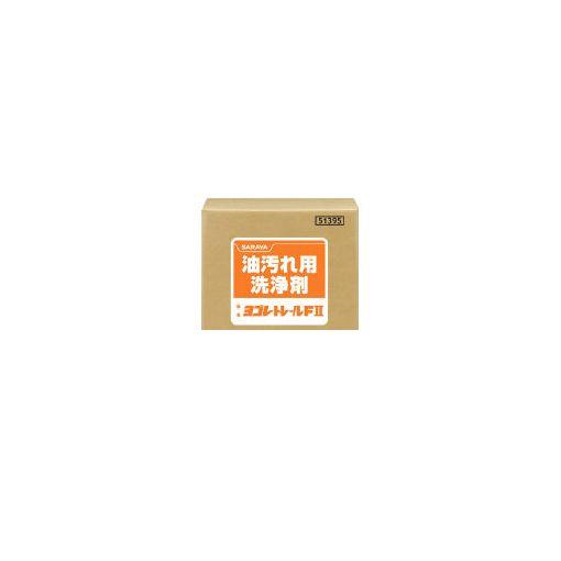サラヤ 株 サラヤ 51395 油汚れ用洗浄剤 ヨゴレトレールF2 20kg【送料無料】