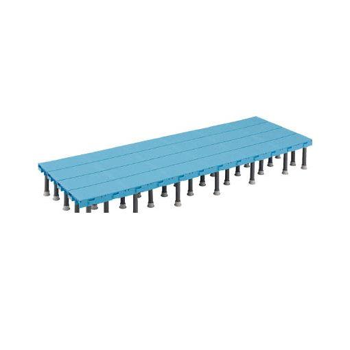 トラスコ中山 TRUSCO DS6090H 樹脂ステップ高さ調節式600X900 H20 416-3630