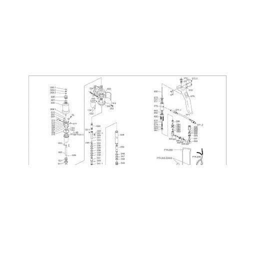 トラスコ中山(TRUSCO) [FTR008] FTR65G用 シリンダー 414-7910