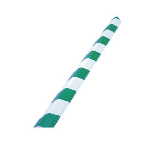 【個数:1個】トラスコ中山 TRUSCO T10AC101 安心クッションL字型大 緑・白 10本入り 415-6382 【送料無料】