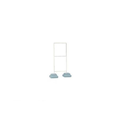 【あす楽対応】【個数:1個】ユニット [86833A] 標識スタンドウェイト付600×600用 350×950×15 371-8336 【送料無料】