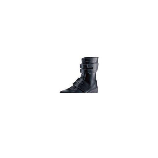 【あす楽対応】 株 シモン シモン 7538BK24.0 安全靴 長編上靴 7538黒 24.0cm 368-1025