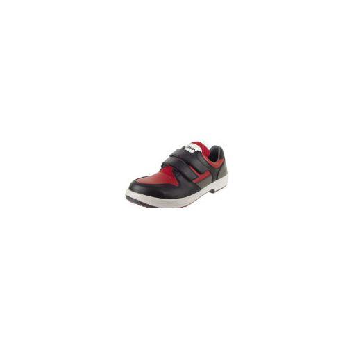 株 シモン シモン 8518REDBK27.0 安全靴 トリセオシリーズ 短靴 赤/黒 27 360-7895