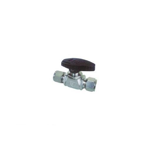 フジキン フジキン PUBV953 ステンレス鋼製4.90MPaパネルマウント式ボール弁 365-5300 【送料無料】