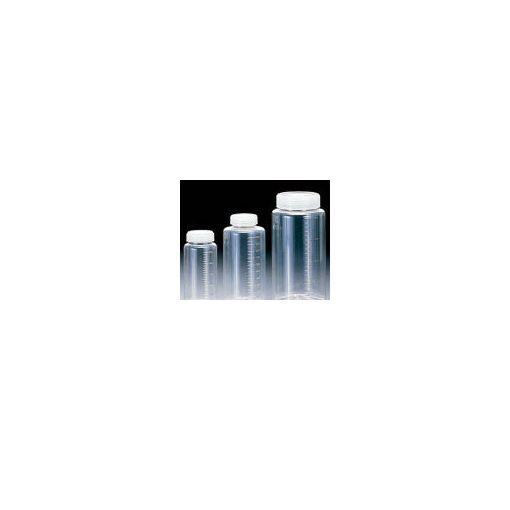 【あす楽対応】(株)サンプラテック(サンプラ) [2013] クリアー広口ボトル 100ml (200本入) 354-0341【送料無料】