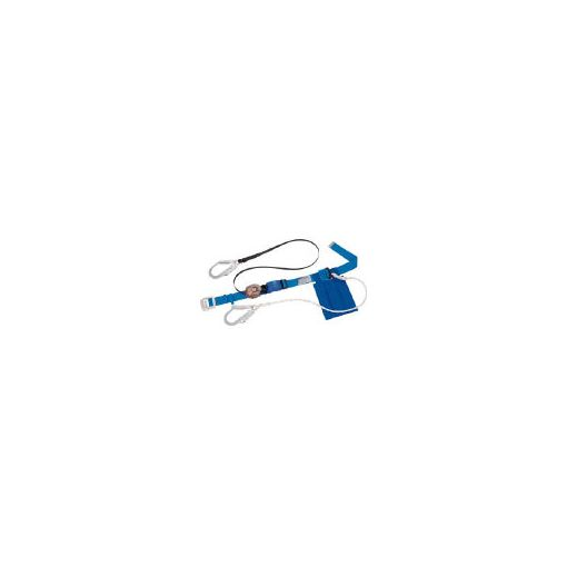 【あす楽対応】サンコー(タイタン) [SL505WDHSB] ダブルランヤード式安全帯 366-5071 【送料無料】