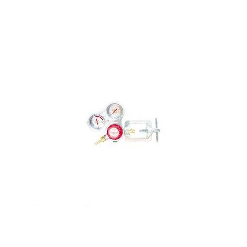 千代田精機 千代田 SRAA アセチレン用調整器スタウト乾式安全器内蔵型 355-2616 【送料無料】