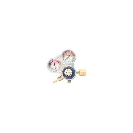 千代田精機 千代田 SROAE 酸素用調整器スタウト【関東式】乾式安全器内蔵型 355-2641 【送料無料】