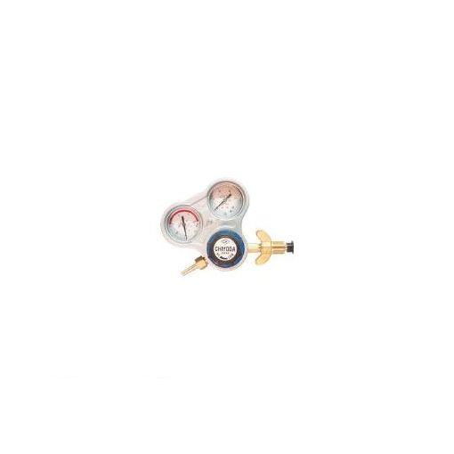 千代田精機(千代田) [SROAW] 酸素用調整器スタウト【関西式】乾式安全器内蔵型 355-2659 【送料無料】