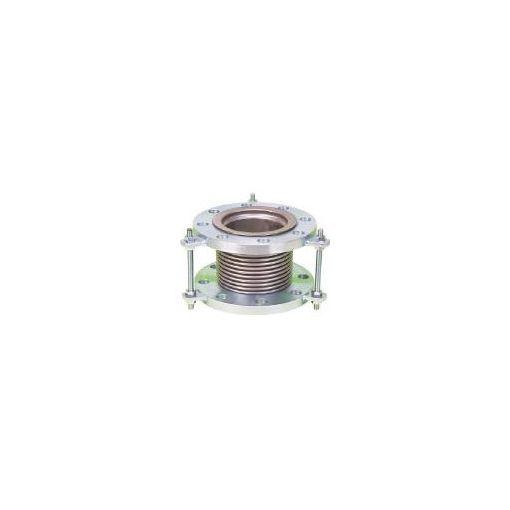 南国フレキ工業(NFK) [NK7300100200] 排気ライン用伸縮管継手 5KフランジSS40 420-4689 【送料無料】