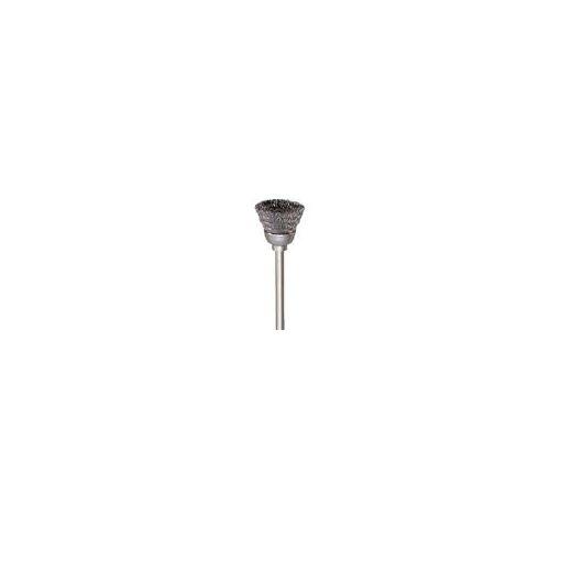 【あす楽対応】トラスコ中山(TRUSCO) [133C450P] カップ型ブラシステンレス線0.1X外径Φ13X軸Φ3 50本入 【送料無料】