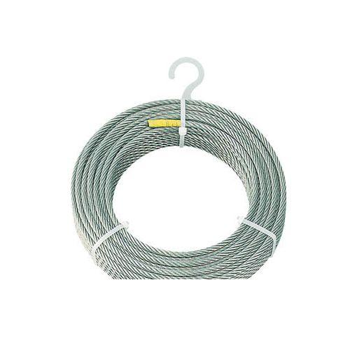 【あす楽対応】トラスコ中山(TRUSCO) [CWS6S100] ステンレスワイヤロープ Φ6mmX100m【送料無料】