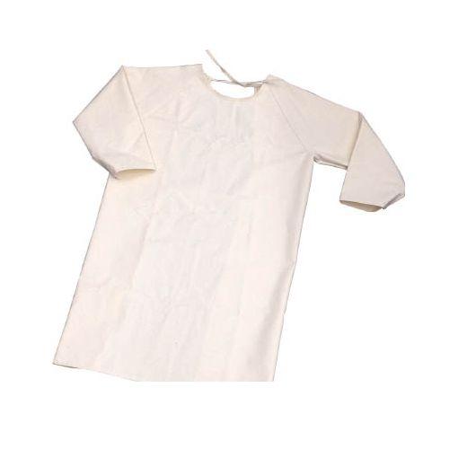 【あす楽対応】トラスコ中山(TRUSCO) [TBKSMKL] 難燃加工綿保護具 袖付前掛け Lサイズ【送料無料】