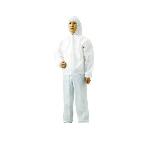 【TOOL NOW】トラスコ中山(TRUSCO) [TPCZ3L80] 不織布使い捨て保護服ズボン 3L【80入】 【送料無料】