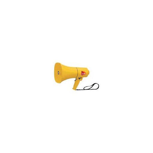 【あす楽対応】ノボル電機製作所(ノボル) [TS714] レイニーメガホン15W 防水仕様 ホイッスル音付き【電池 433-4311 【送料無料】