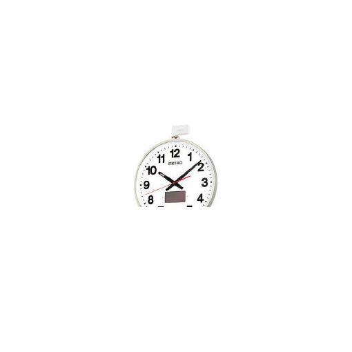 【あす楽対応】【個数:1個】セイコークロック(株)(SEIKO) [SF211S] ソーラー屋外用大型電波掛時計 527×450 364-2011 【送料無料】