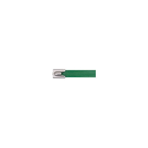 【あす楽対応】【納期-通常5日以内発送(在庫切れ時-約1.5ヶ月)】パンドウイットコーポレーション(パンドウイット) [MLTFC2HLP316GR] フルコーティングステンレススチールバンド 緑