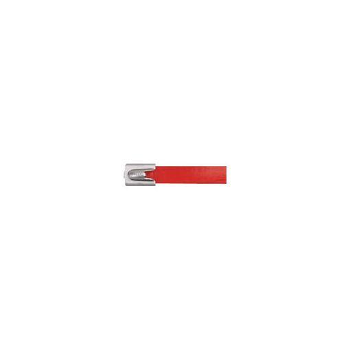 【納期-通常5日以内発送 在庫切れ時-約1.5ヶ月 】パンドウイットコーポレーション パンドウイット MLTFC2HLP316RD フルコーティングステンレススチールバンド 赤