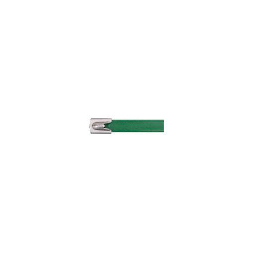 【納期-通常5日以内発送 在庫切れ時-約1.5ヶ月 】パンドウイットコーポレーション パンドウイット MLTFC6HLP316GR フルコーティングステンレススチールバンド 緑 【送料無料】