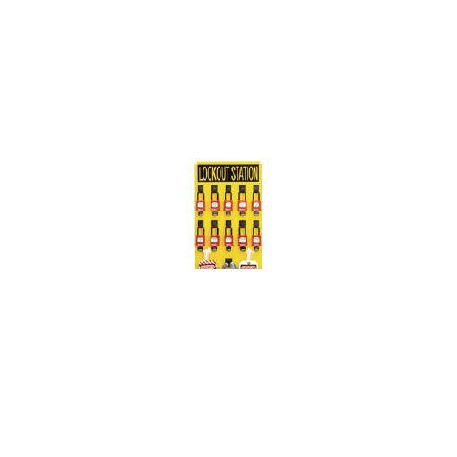 パンドウイットコーポレーション(パンドウイット) [PSL10SWCA] ロックアウトステーションキット 10人用 【送料無料】