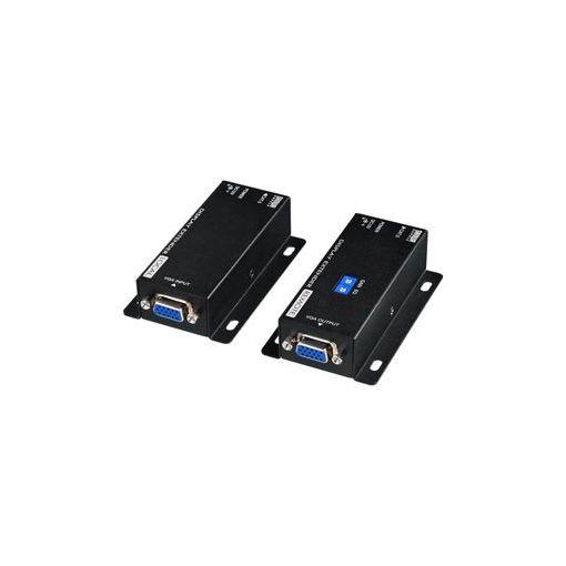サンワサプライ [VGA-EXSET3] ディスプレイエクステンダー(受信機電源不要・セットモデル) VGAEXSET3 【送料無料】